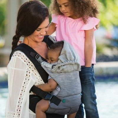 Infantino Go Forward Baby Carrier Gray Products Traveling With