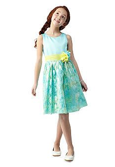 Bloome Floral Lace Dress Girls 7 16 Tessa Backman For