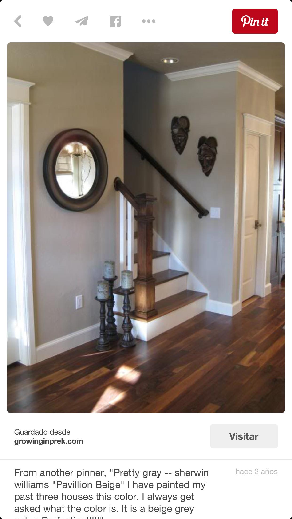 Wandfarbe Grau Liegt Auch In Diesem Jahr Definitiv Im Trend. Eine Elegante  Lösung Bei Der Innengestaltung Stellt Die Kombination Von Grauen Wänden Mit  .