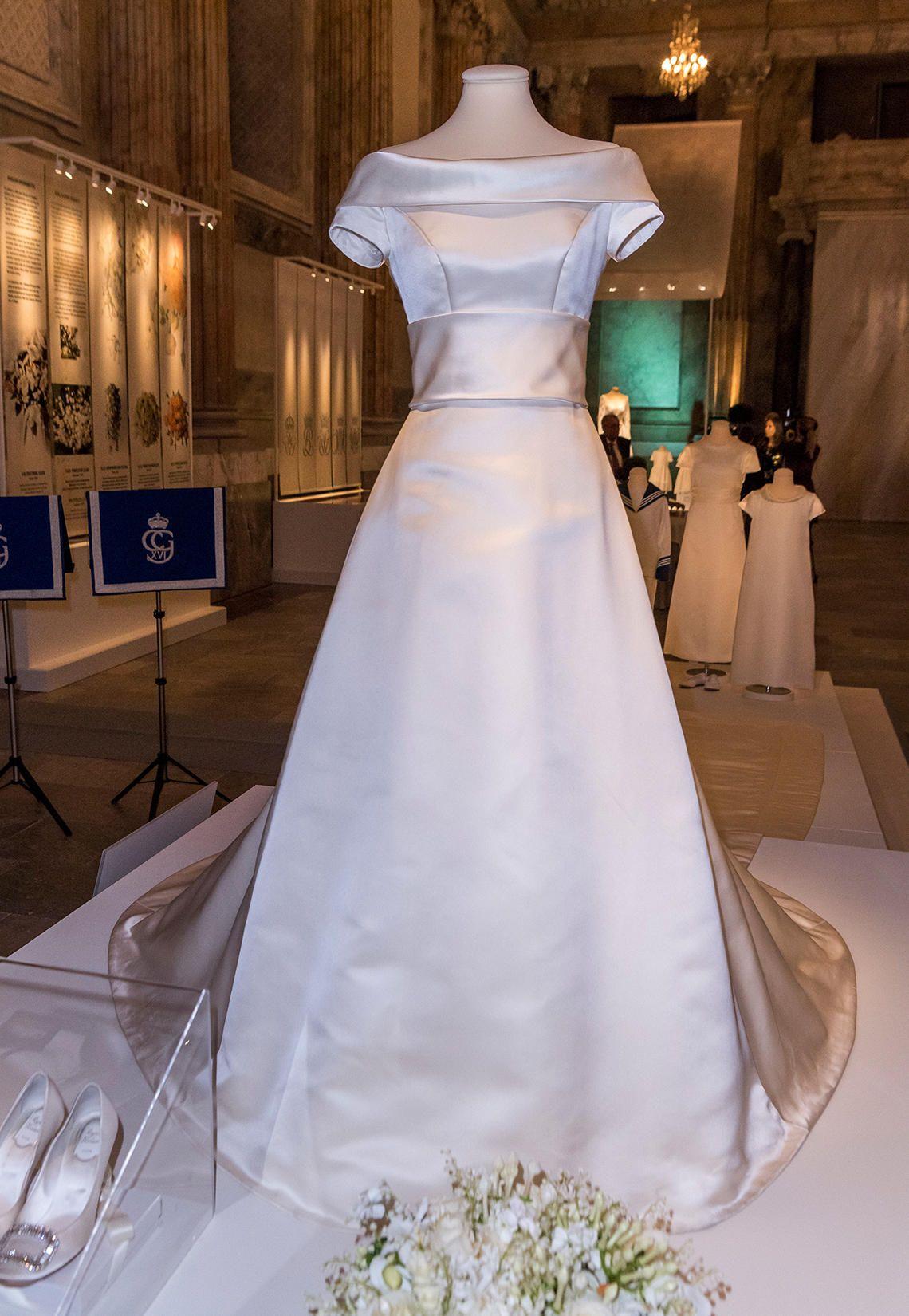 Die Hochzeitskleider der Schweden-Prinzessinnen  Hochzeitskleid