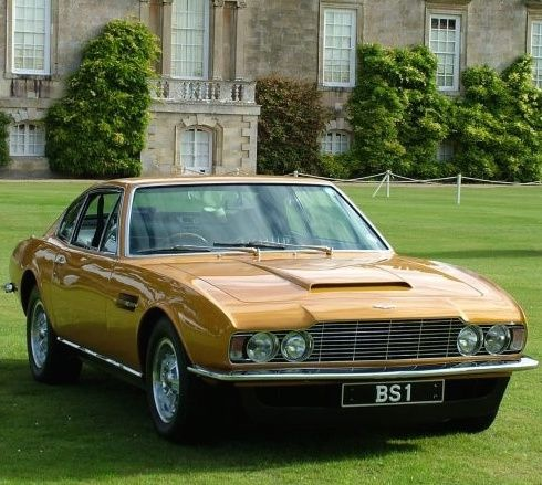 Aston Martin Dbs Of Lord Brett Sinclair Roger Moore The