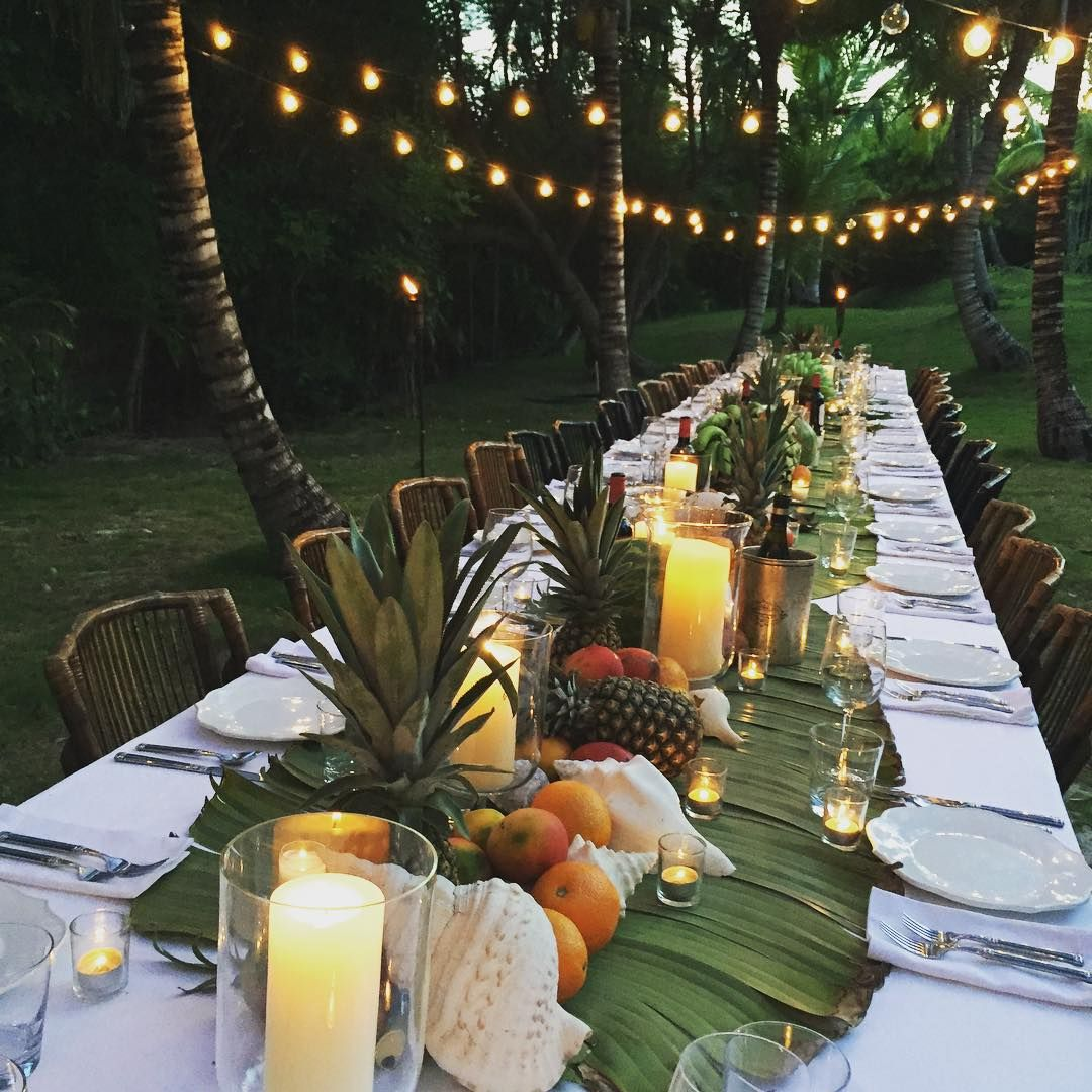 A Tropical Feast For Felix's 18th, Created By His Father