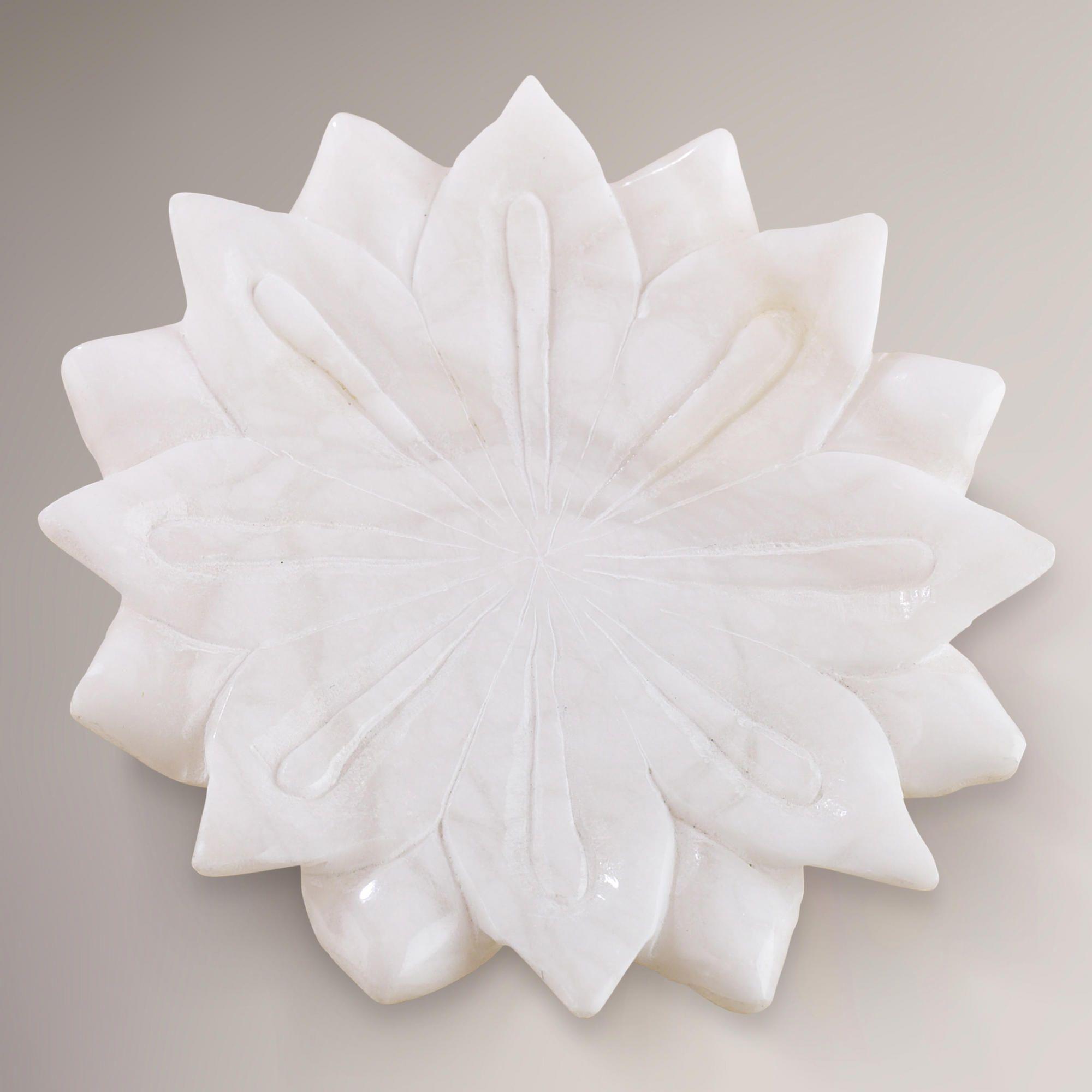 Alabaster lotus soap dish world market bathroom pinterest