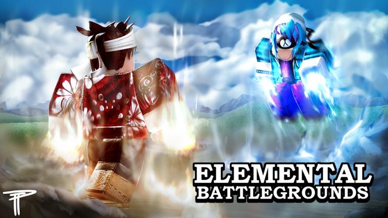 3 Elemental Battlegrounds Roblox Element Anime Dragon Ball