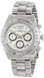Invicta Men's 17023 Speedway Analog Display Japanese Quartz Silver Watch