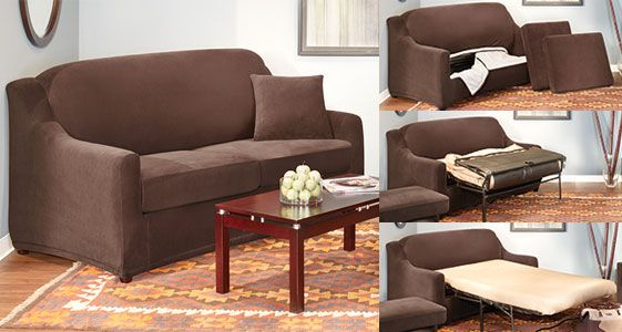 Brilliant Sleeper Sofa Covers Designed To Fit Almost Any Full Or Gmtry Best Dining Table And Chair Ideas Images Gmtryco