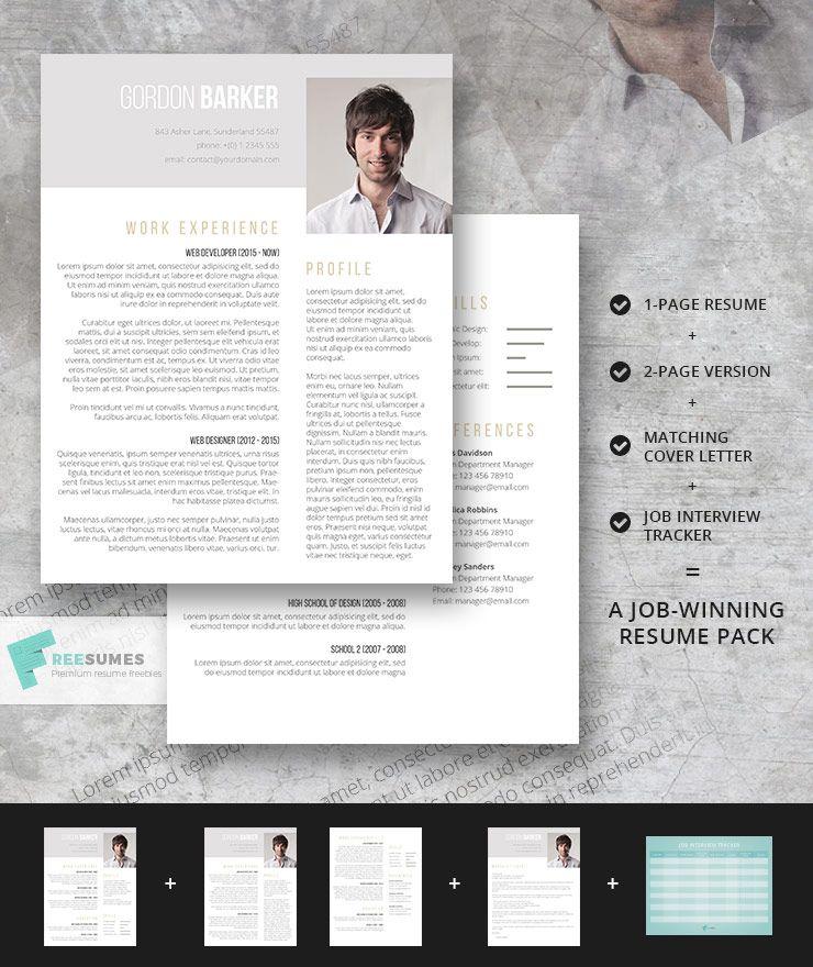 Smart Portfolio Complete Resume Pack Resume, Creative