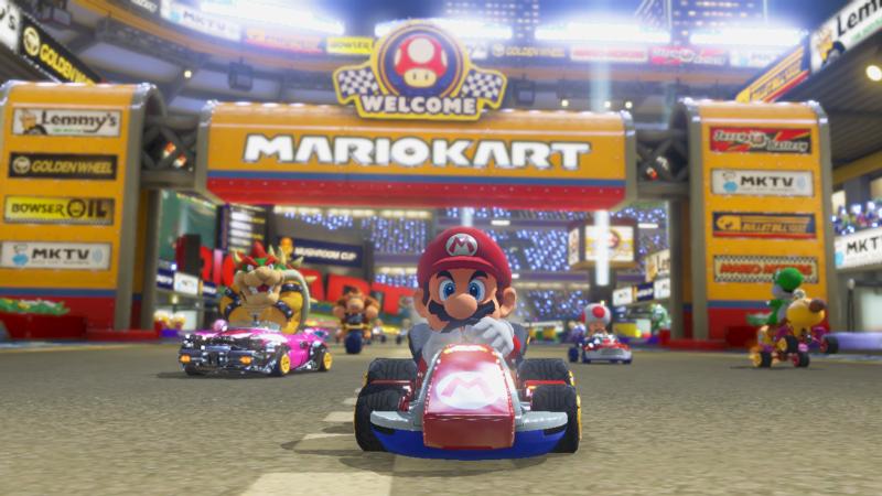 Mario Kart Stadium Start Finish Line Mario Kart Mario Kart 8 Mario