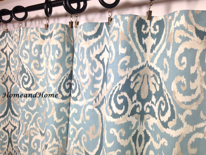 decor curtain for curtains map bathroom shower blue nautical x