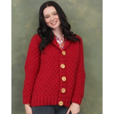 Shawl Collar Cardigan - Knitting Patterns - Patterns Yarnspirations knitt...