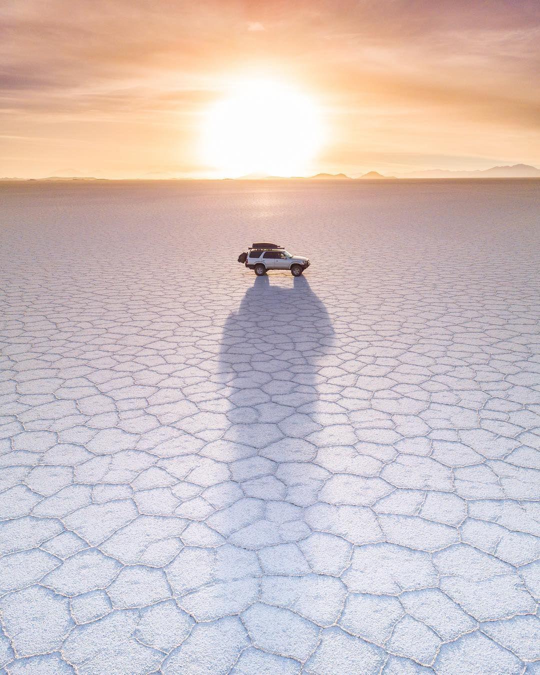 Geometric Shapes In The Salt Of The Great Salar De Uyuni Bolivia Photo Ashwin Atre Aatre Bolivia Southamerica Travel Spot Virtuoso Travel Places To Go