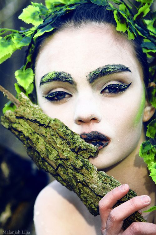 #theatrical #makeup