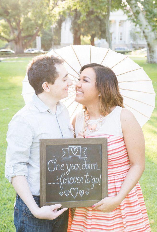 Cute First Wedding Anniversary Photo Ideas | ♥ Bridal Companies ...