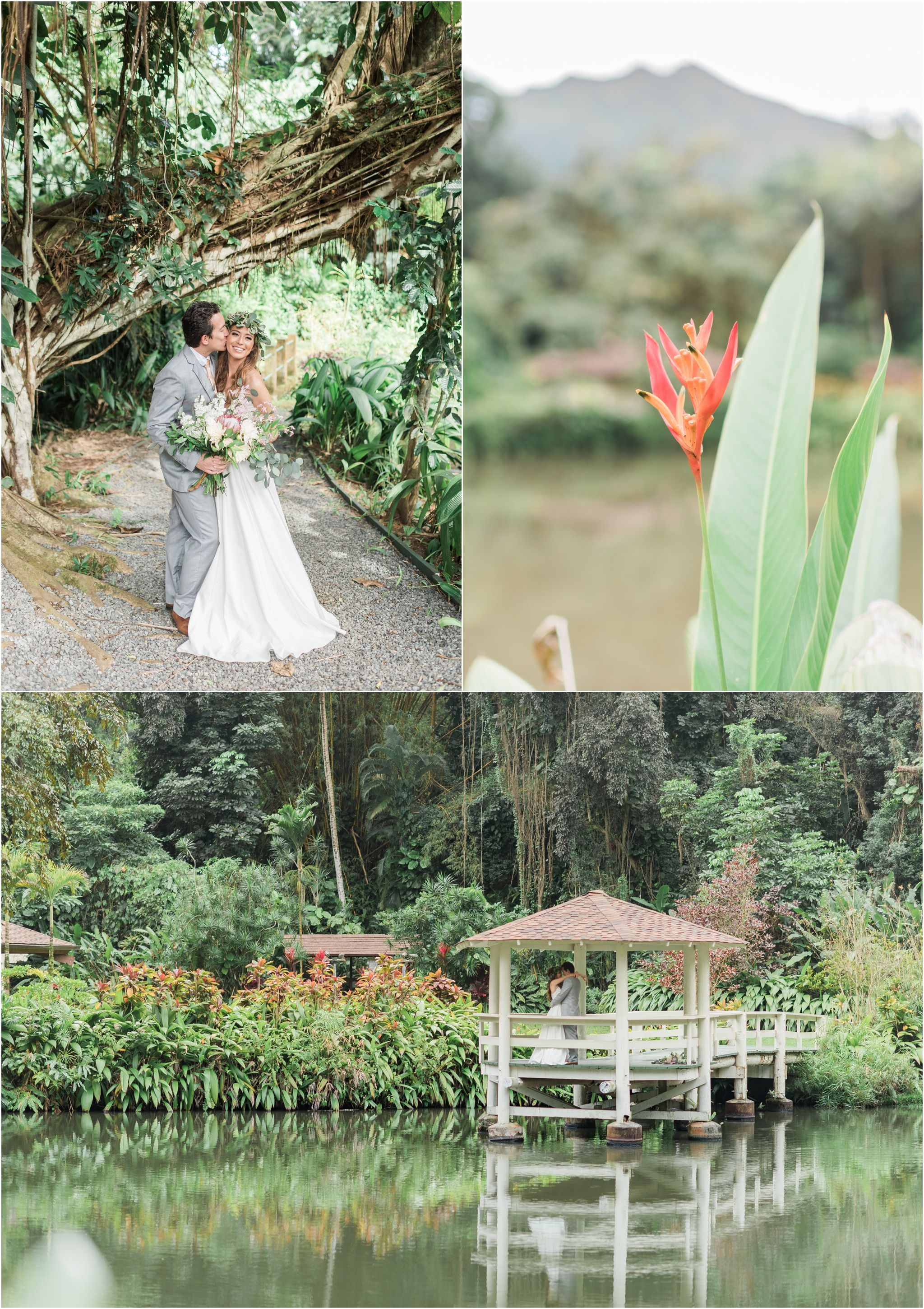 Haiku Gardens Wedding Inspiration Oahu Wedding Venue