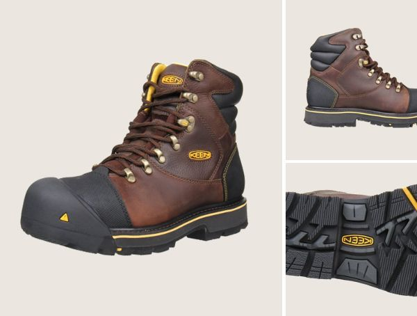 Keen Utility Milwaukee Steel Toe Work Boots For Men | Work boots ...