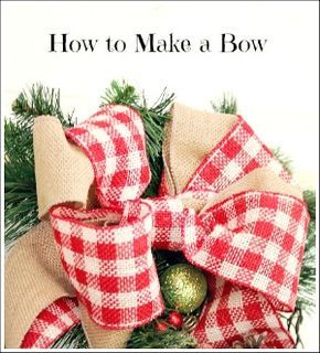 Christmas bow you can make yourself step by step tutorial some of christmas bow you can make yourself step by step tutorial some of my solutioingenieria Choice Image