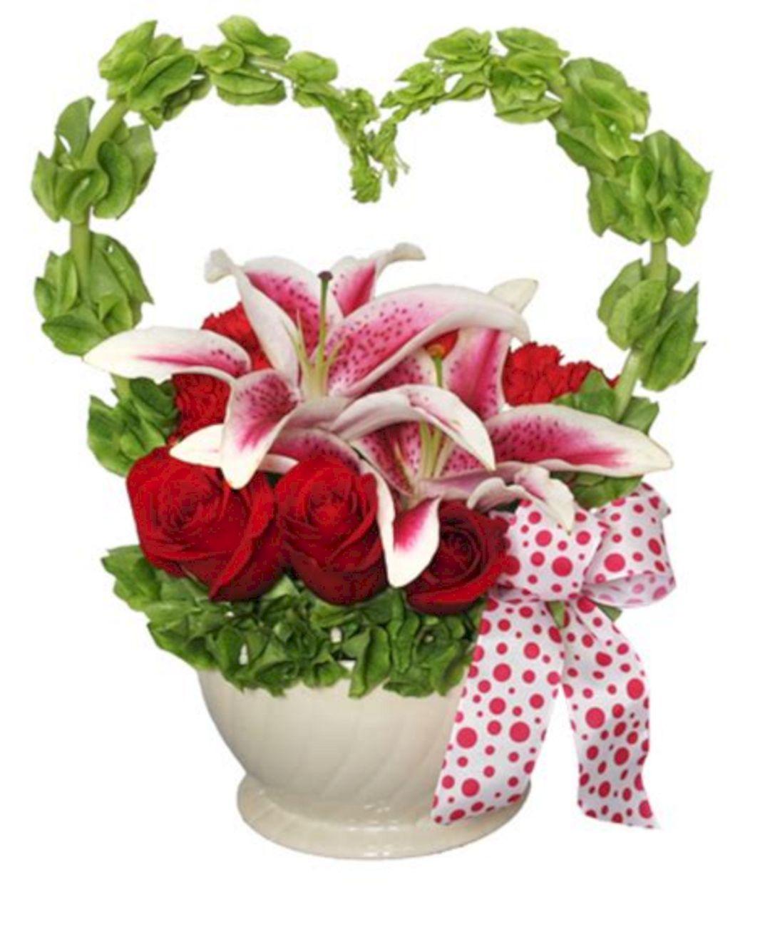24 Top Valentine Flower Arrangements For Romantic Valentine Ideas