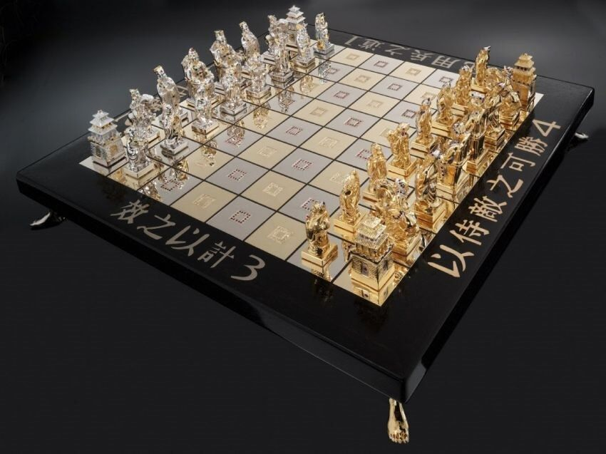 This Is The Most Expensive Chess Set In The World Luxury Chess Sets Chess Board Chess Game
