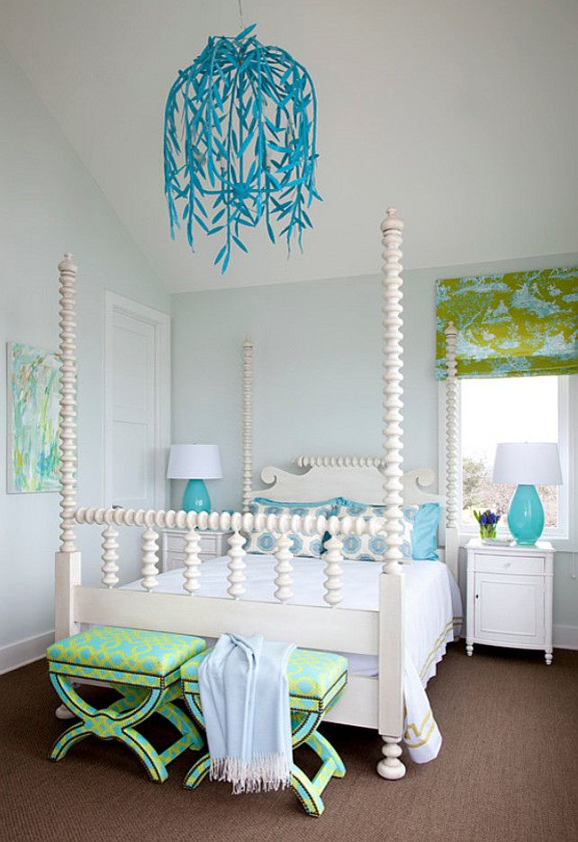 20 gorgeous turquoise room decorations and designs cool turquoise rh pinterest ca