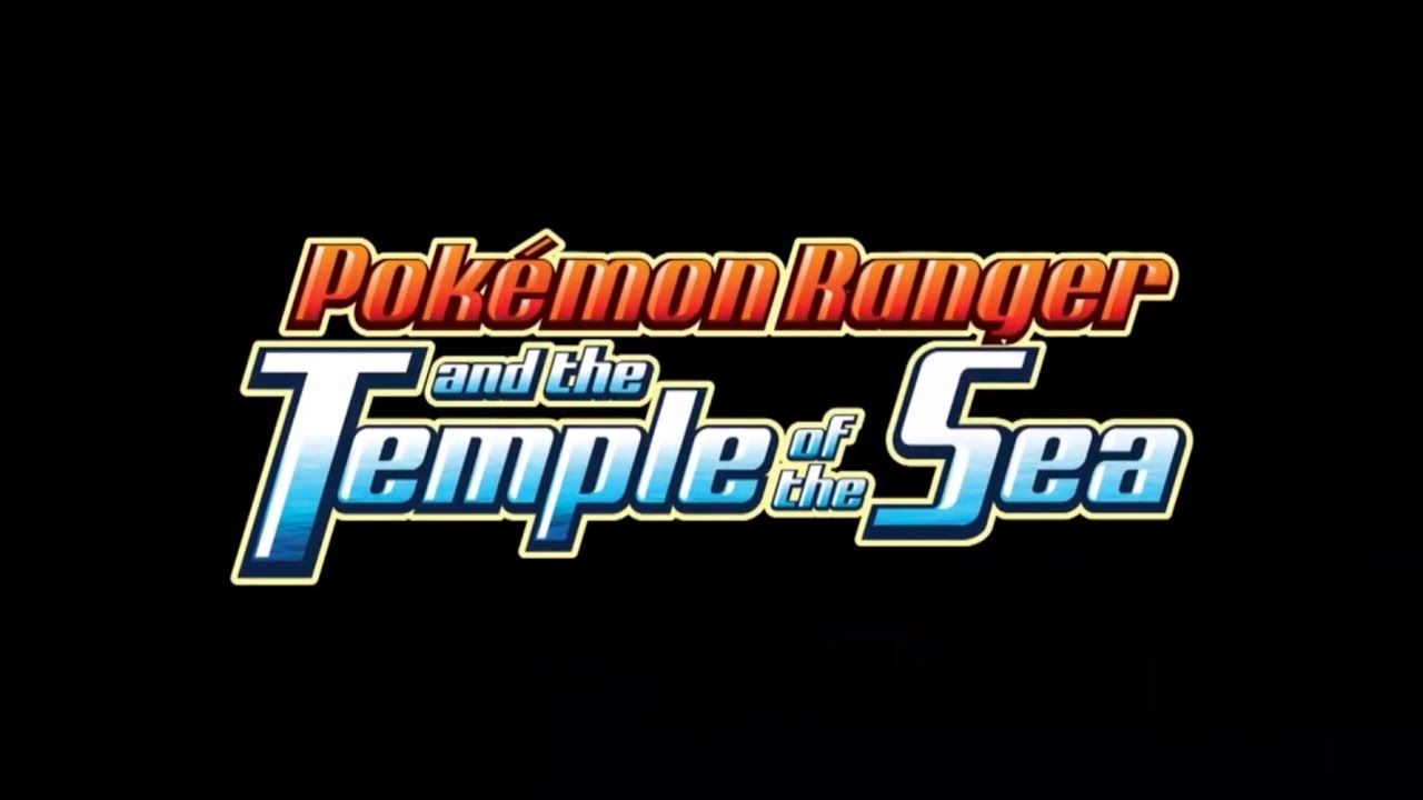Pokemon 9 Pokemon Ranger And The Temple Of The Sea 2006 Sport