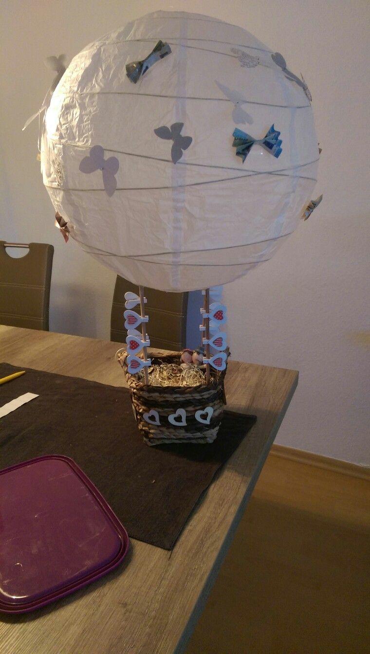Hochzeitsgeschenk hei luftballon lampenschirm ikea for Lampenschirm ikea