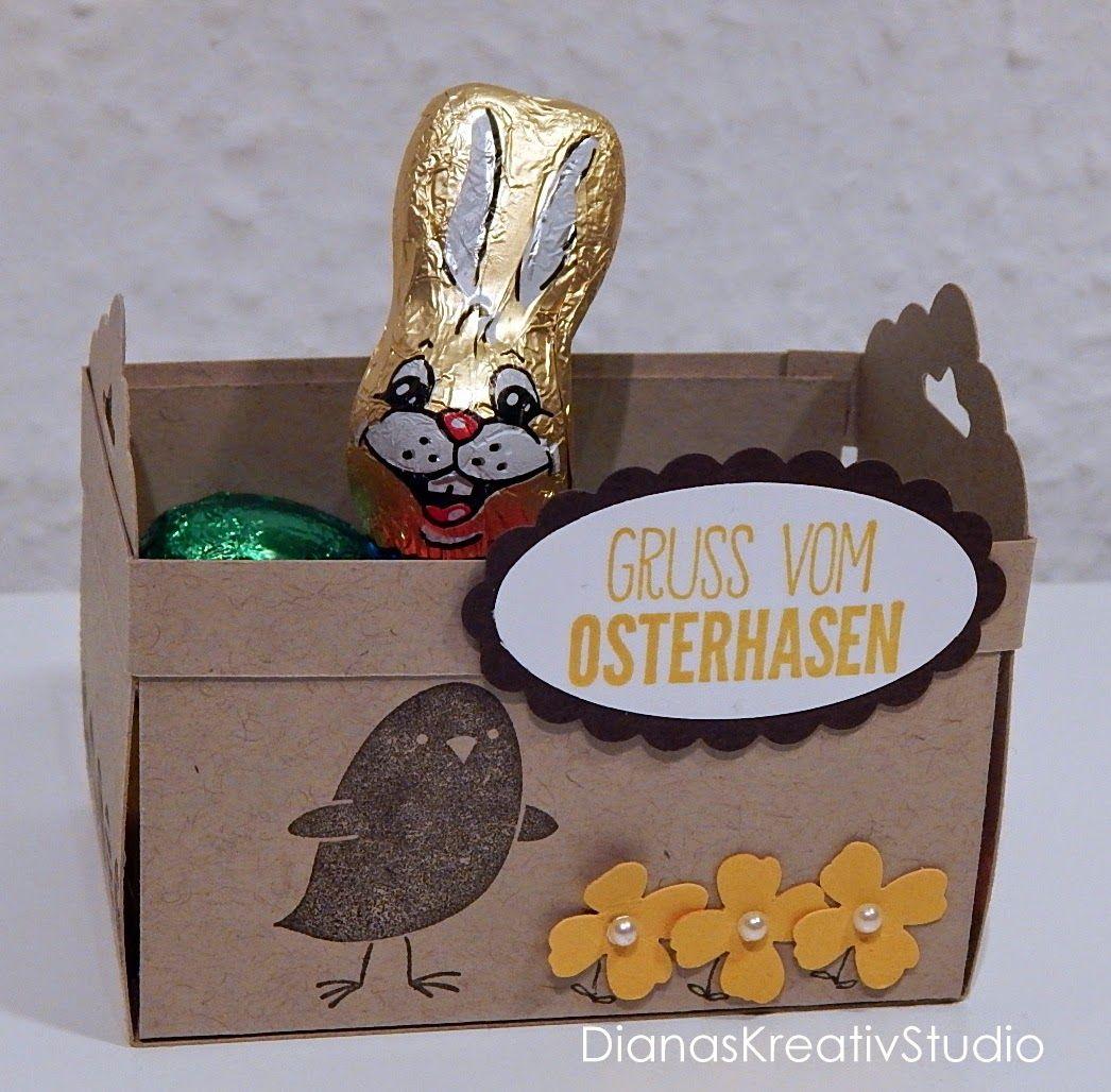 Schönes aus Papier Stampin Up Verpackung Ostern
