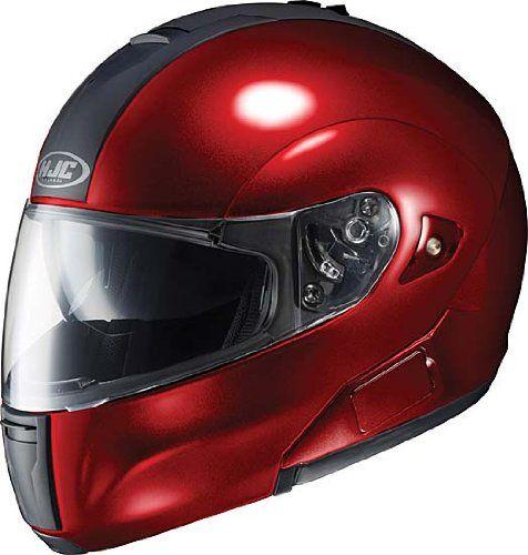 HJC IS-Max BT Solid Bluetooth Ready Modular Helmet - Wine, X-Small