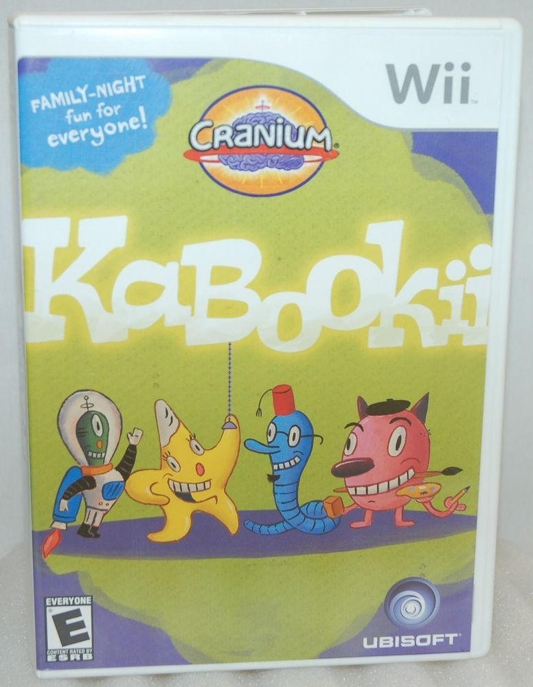 6 For Sale Is Cranium Kabookii Video Game For Your Nintendo Wii