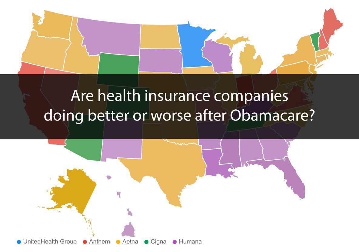 Health Insurance Companies Better Or Worse After Obamacare In