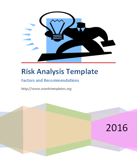 Risk Analysis Template  My Likes    Filing