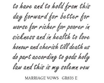 Wedding Word Matanahgift Tabaring Marriage Vows Cool Words Love And Marriage