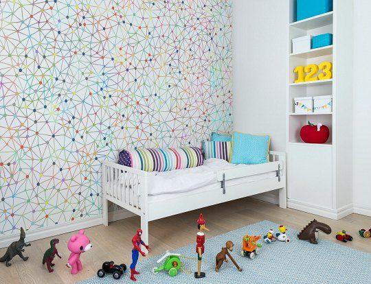 La magia del papel pintado en la habitaci n infantil - Papeles pared infantiles ...