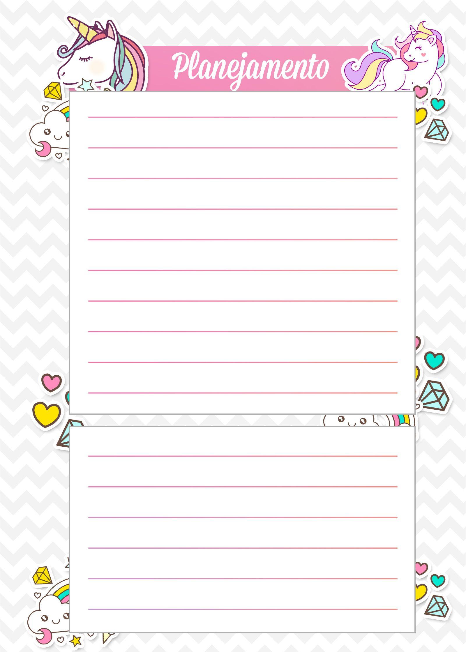 d53947d44 Planejamento Pedagógico, Planejamento Semanal, Decoração De Caderno, Planner  De Estudo, Coisas De