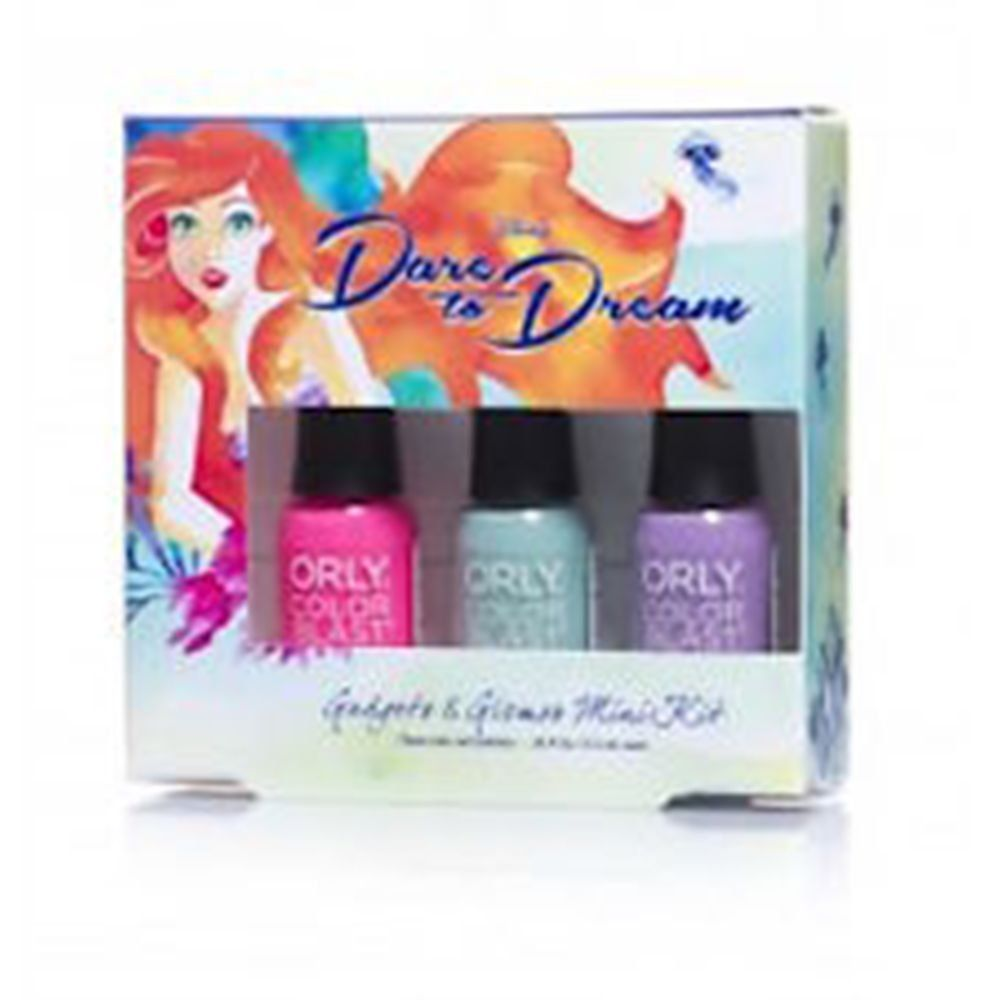 Disney Princess Ariel Dare to Dream Mini Nail Polish Set | Disney