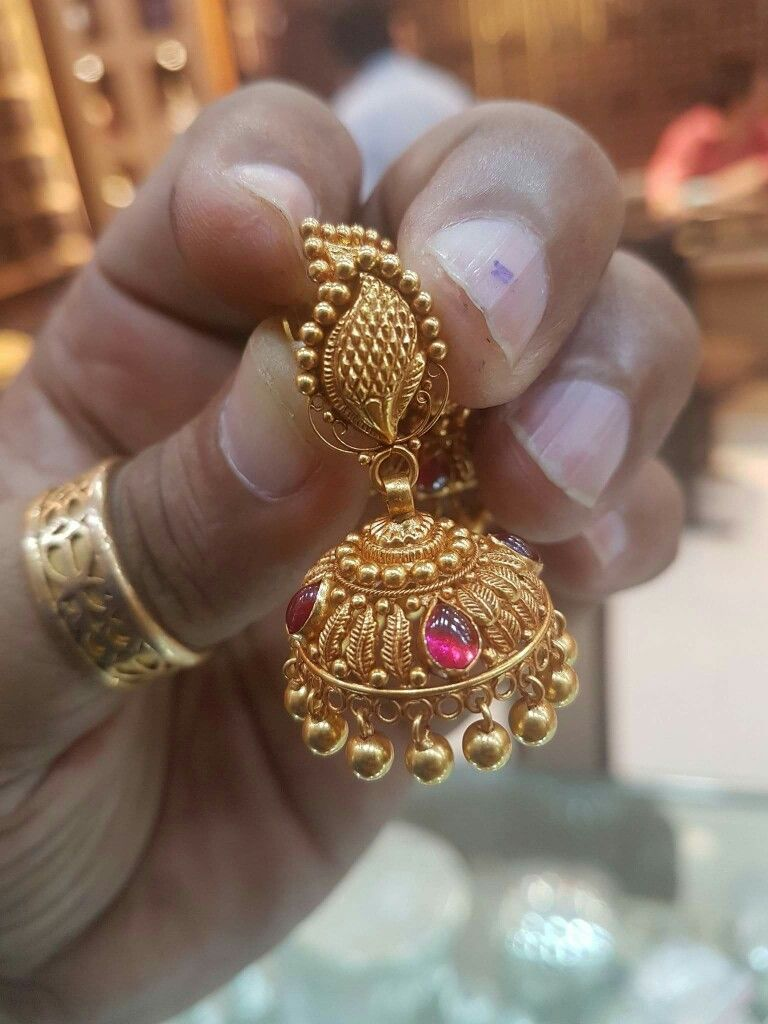 Pin by Kesav Raj on Jewels | Pinterest | India jewelry, Ear rings ...