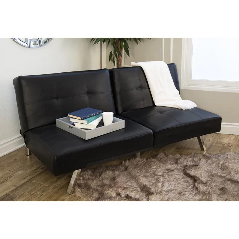 Bartlett Twin Or Smaller Tight Back Convertible Sofa Reviews Allmodern Convertible Sofa Futon Sofa Abbyson Living