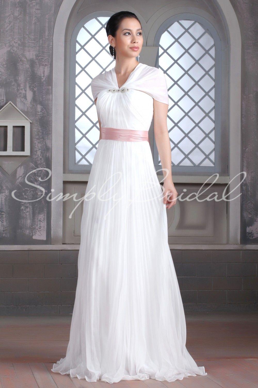 ef06116e67fd Unique idea to make a strapless dress modest | Modest Wedding ...