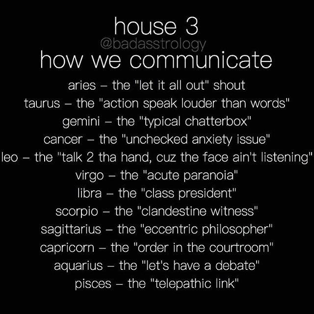 House 3 Leo But I Listen Though I Keep Tabs Astrology Astrology Numerology Astrology Zodiac