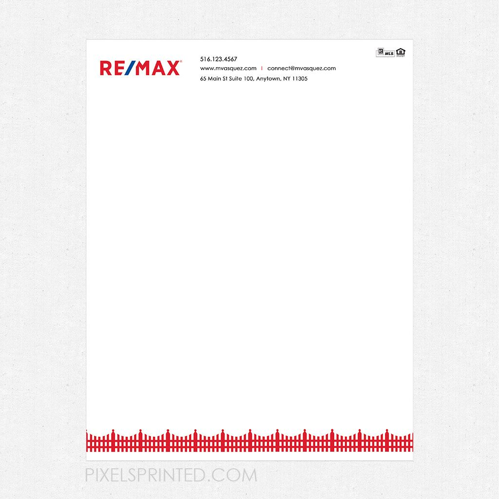 Letterhead Realtor Real Estate Broker Coldwell Banker