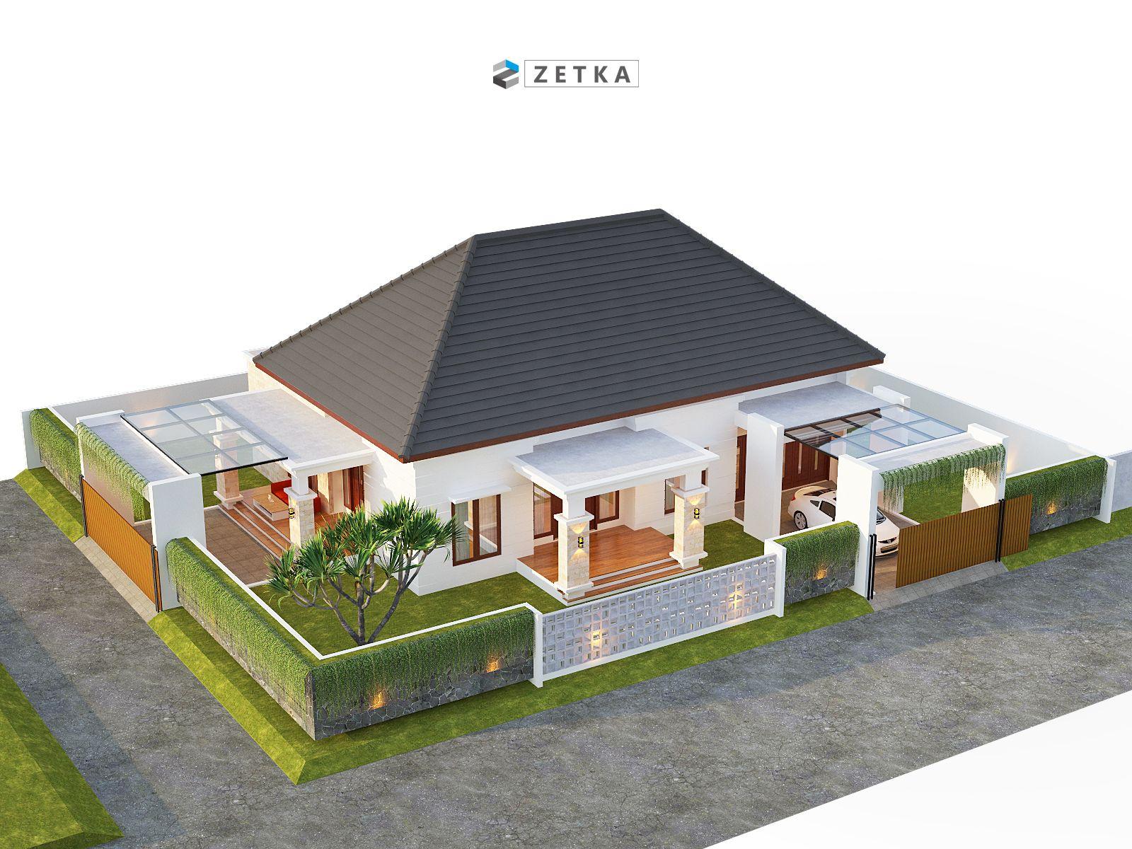 Pin Oleh Zetka Arsitek Di Anjas House Palangkaraya Denah Rumah Pedesaan Rumah Rumah Kebun
