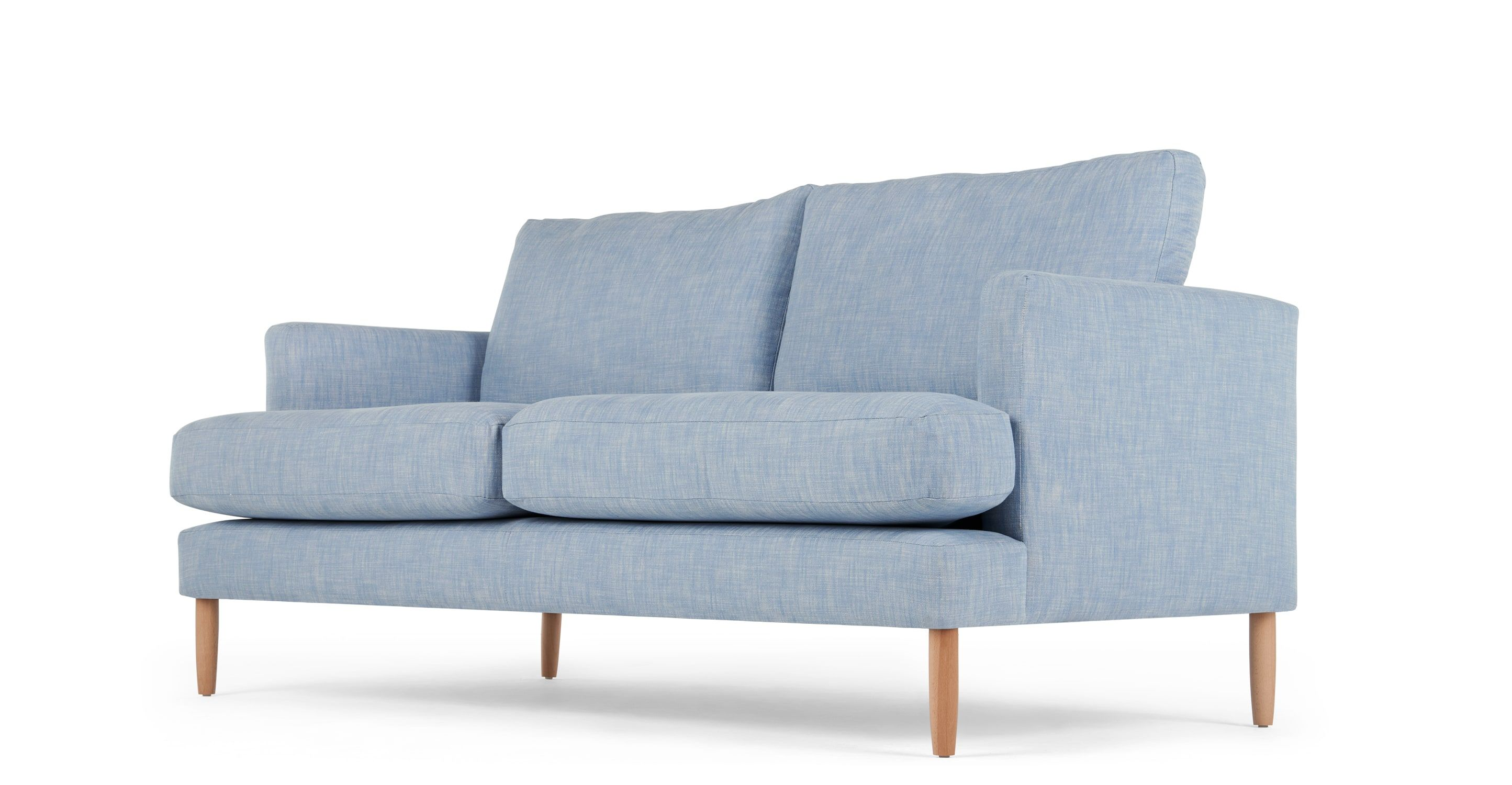 Content by Terence Conran Keston 3 Seater Sofa Jet Grey from Made