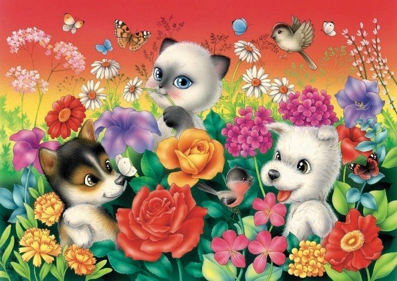 картинка яркая веселая цветок заместителем