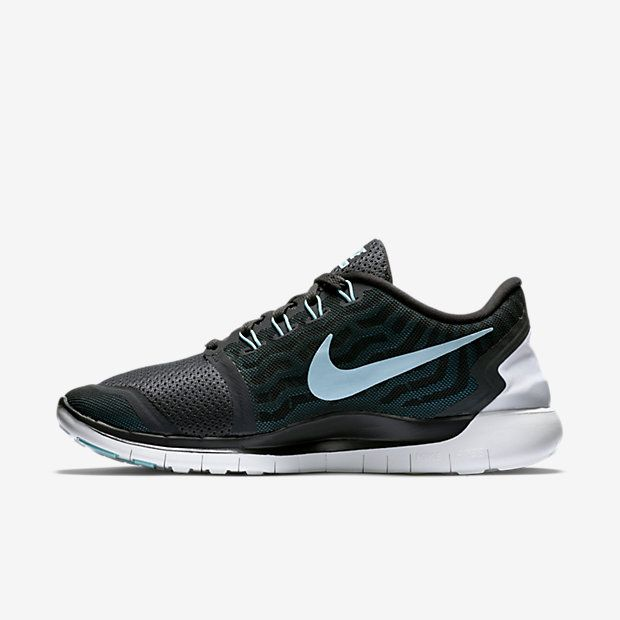 on sale 3226d 4f04b ... Nike Free 5.0 Women s Running Shoe Anthracite Black Blue Lagoon Copa ...