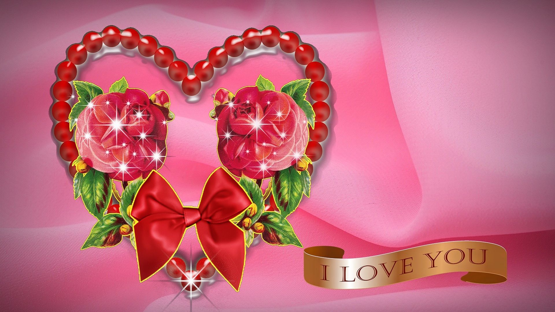 Beautiful flowers wallpaper free download archives free desktop - Pink Rose Flowers Love Wallpaper For Desktop Hd Love Wallpapers Love Flower Images Wallpapers Wallpapers