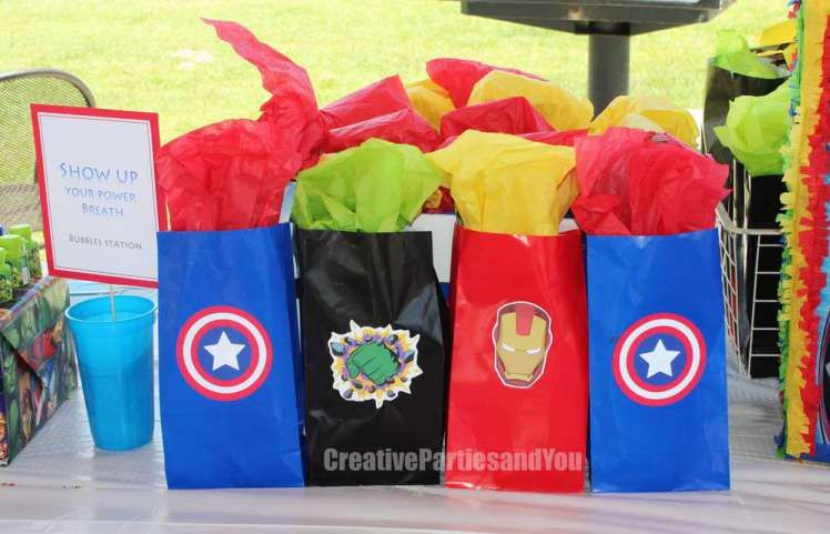 Avengers Theme Birthday Party Return Gifts