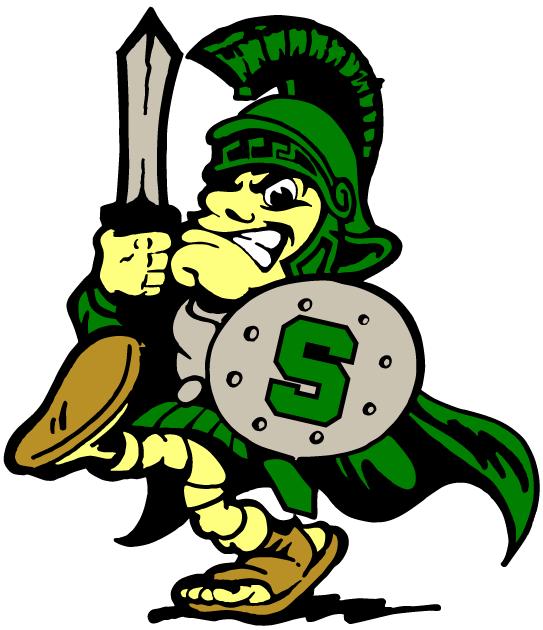 Michigan State Spartans Mascot Logo Michigan State Football Michigan State Spartans Logo Michigan State Logo