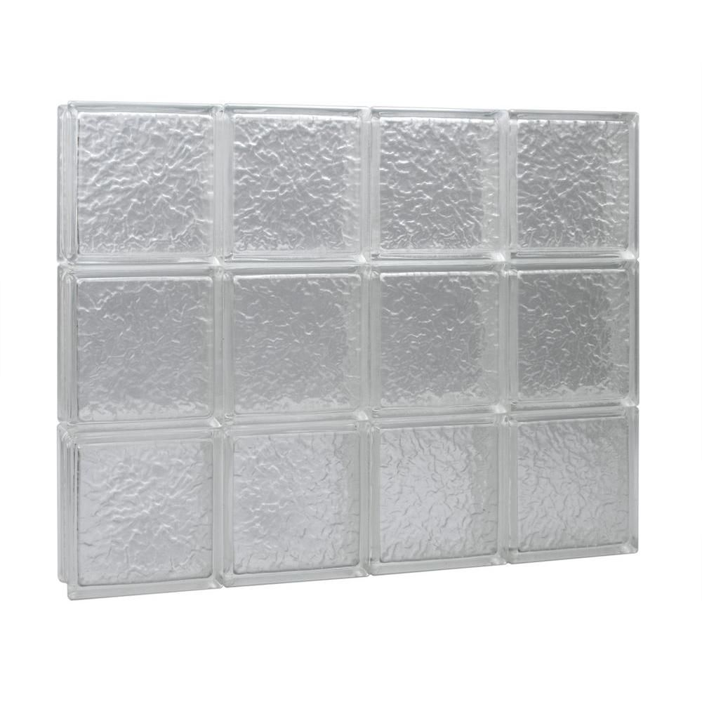 Pittsburgh Corning 34.75 in. x 21.5 in. x 3 in. GuardWise IceScapes ...