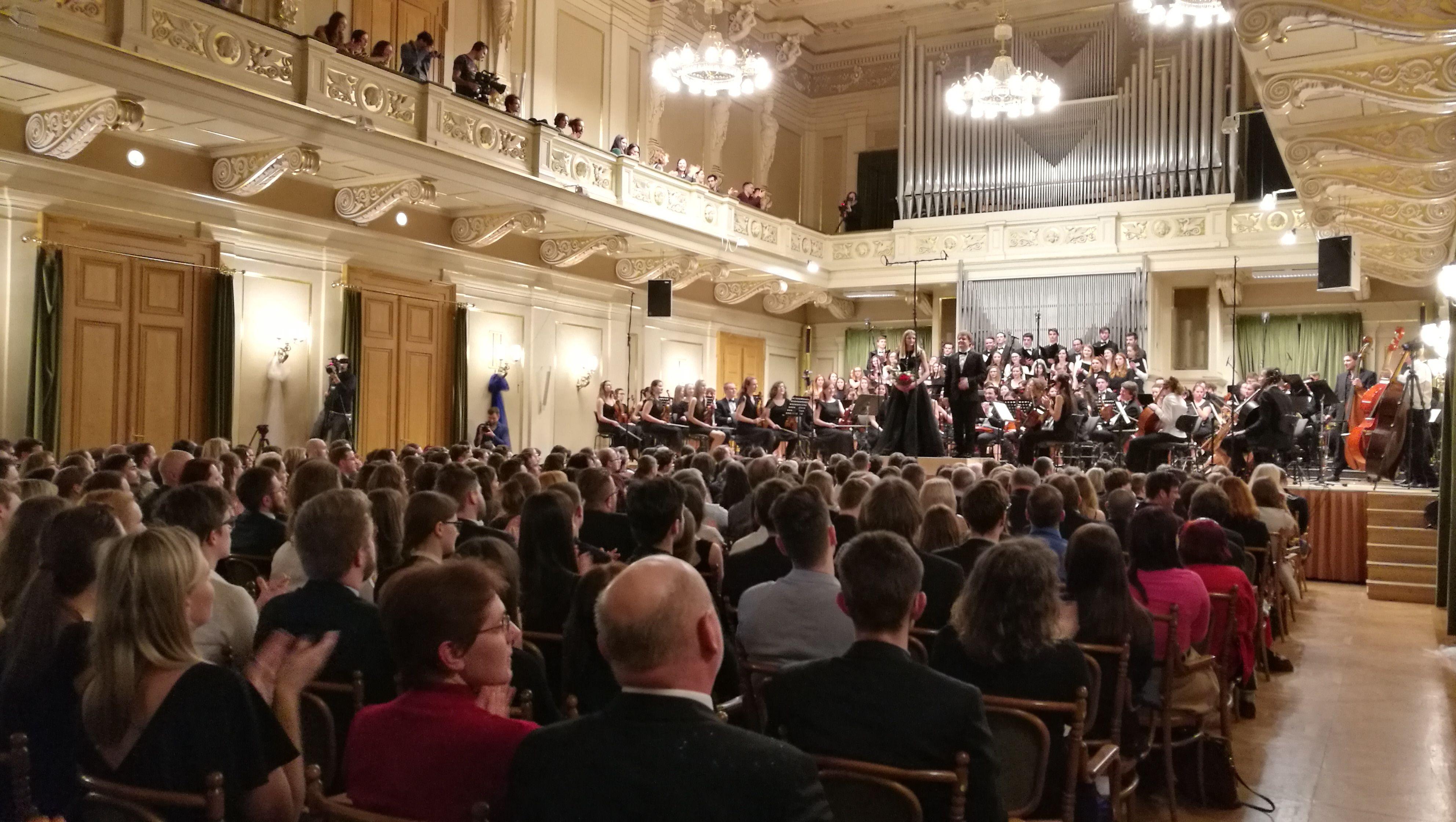 Slávnostný koncert Symfonického orchestru a Pěveckého zboru MU 2019