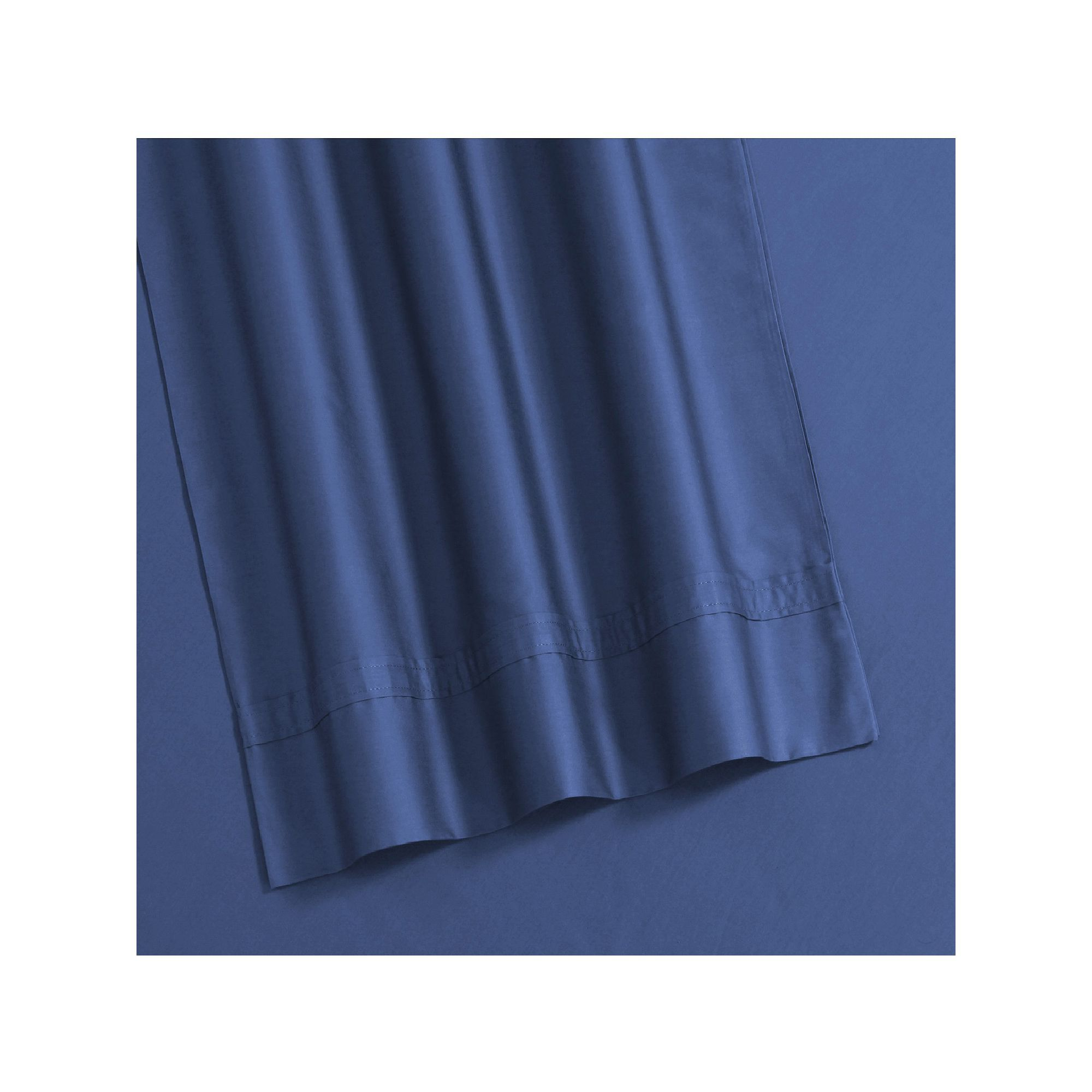 Egyptian Cotton 500 Thread Count Fitted Sheet, Blue Cal King