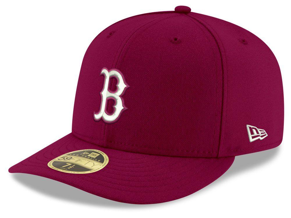 new style ac706 13873 Boston Red Sox New Era MLB Low Profile C-DUB 59FIFTY Cap